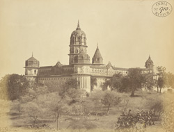 General view of the Lakshminarayana Temple, Orchha